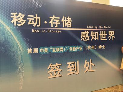The Internet Plus Summit in Hangzhou, China