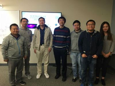 Dr Hu's visit in VSClab at UCR